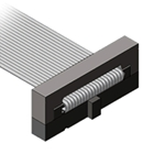 Micro-header ribbon cable