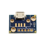 Micro USB Breakout Board with mounting holes