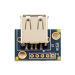 USB Type A Female Breakout Board with mounting holes