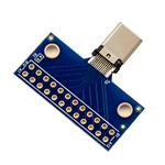USB Type C Male Plug Breakout Board with mounting holes